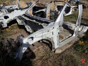 Nissan Pathfinder Четверть задняя HG46498419