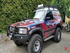 Nissan Patrol Бампер передний HG69437321