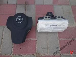 Opel Corsa D Подушка руля HG64733131