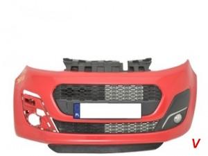 Peugeot 107 Бампер передний GG86682362