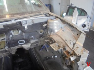 Saab 9-3 Четверть задняя HG04837229
