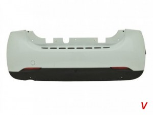 Smart Fortwo Бампер задний HC95198568