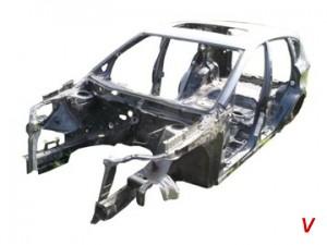 Subaru Tribeca Четверть задняя EJ91612956