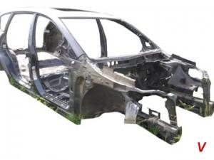 Subaru Tribeca Четверть задняя EJ91613007