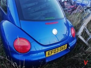 VW Beetle Крышка багажника HG80014503