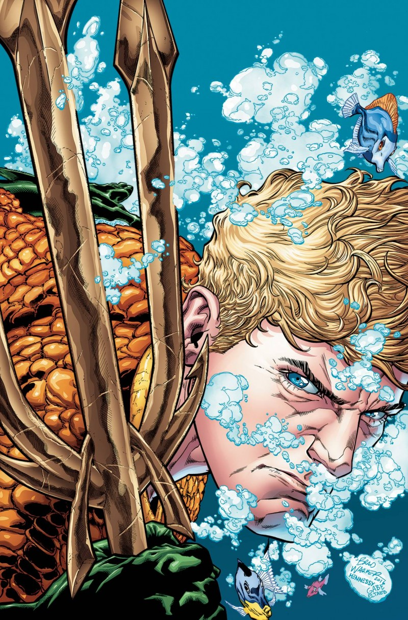AQUAMAN TP REBIRTH V1 THE DROWNING