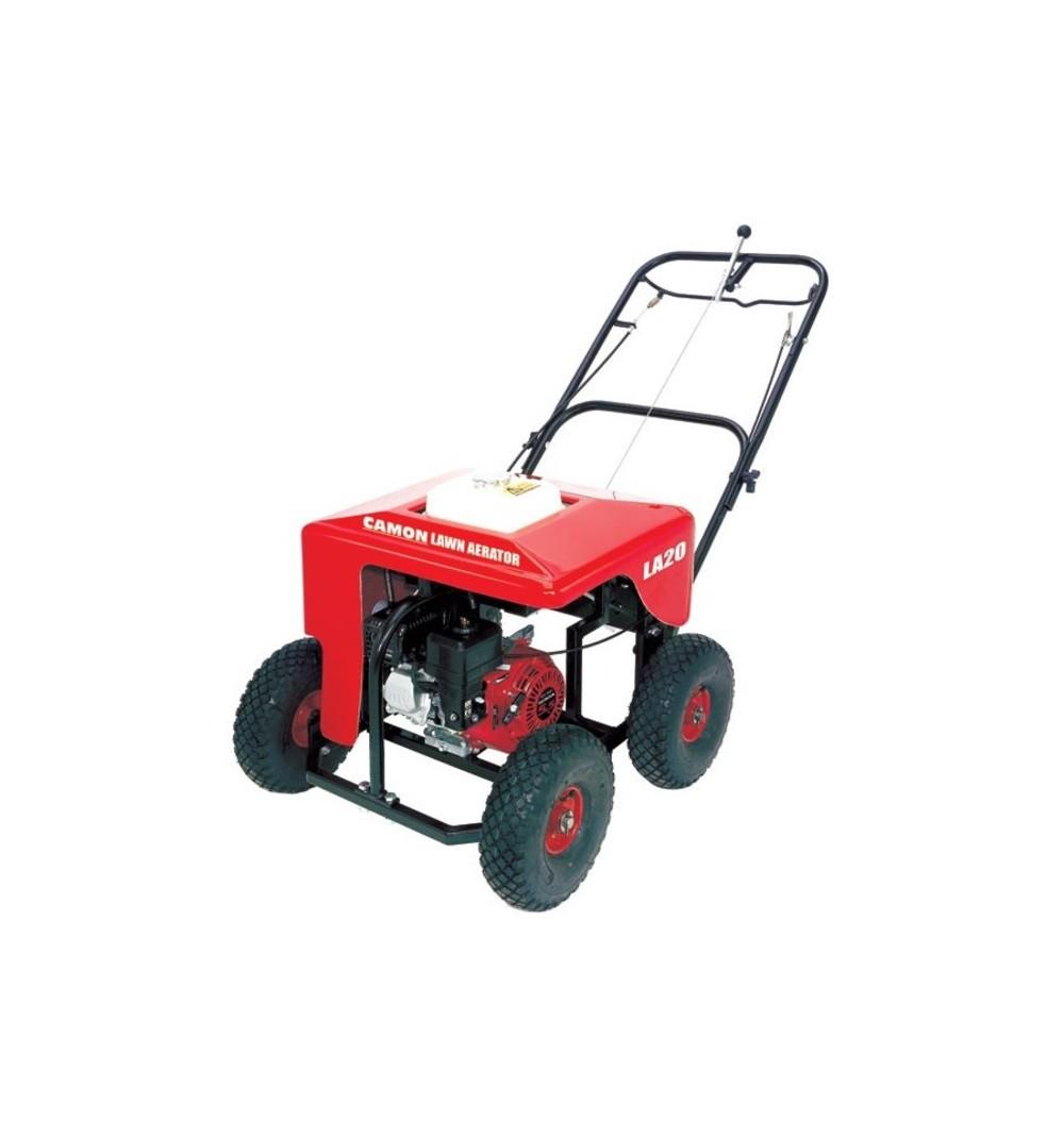 Camon la20 lawn aerator 41cm 16 55 hp petrol engine