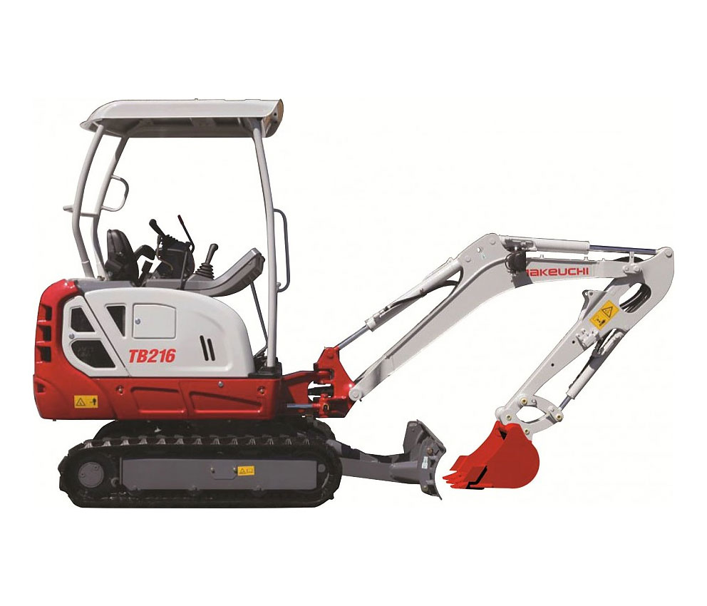 3501.6 ton mini excavator