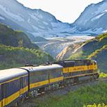 Denali & Glaciers by Rail