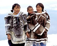 Generations of an Inuit family