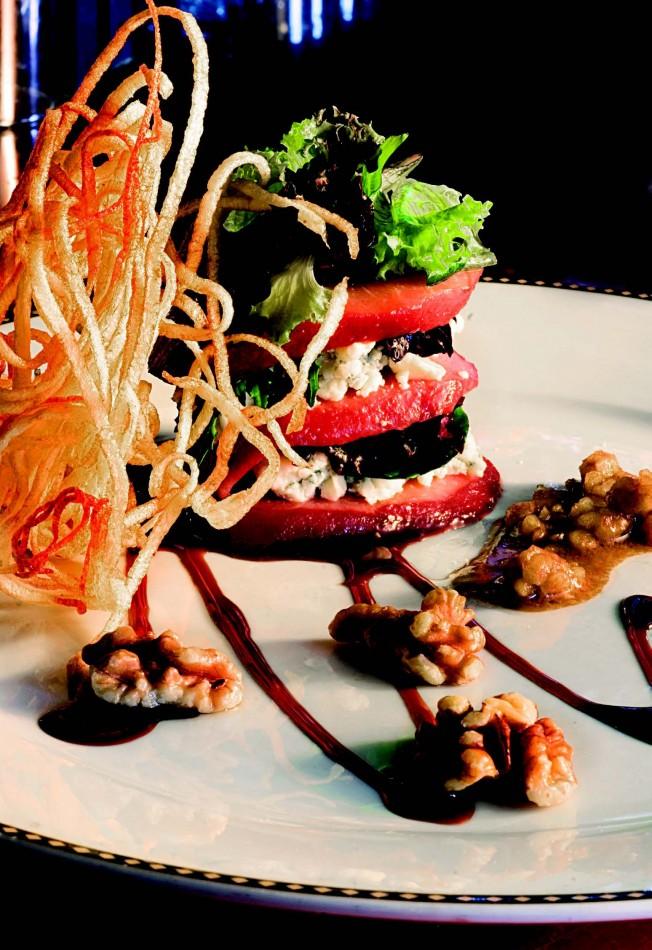 2010-Spring-Central-Oregon-Recipe-Bend-Blacksmith-Restaurant-Pear-Salad-eat-food-chef-cook
