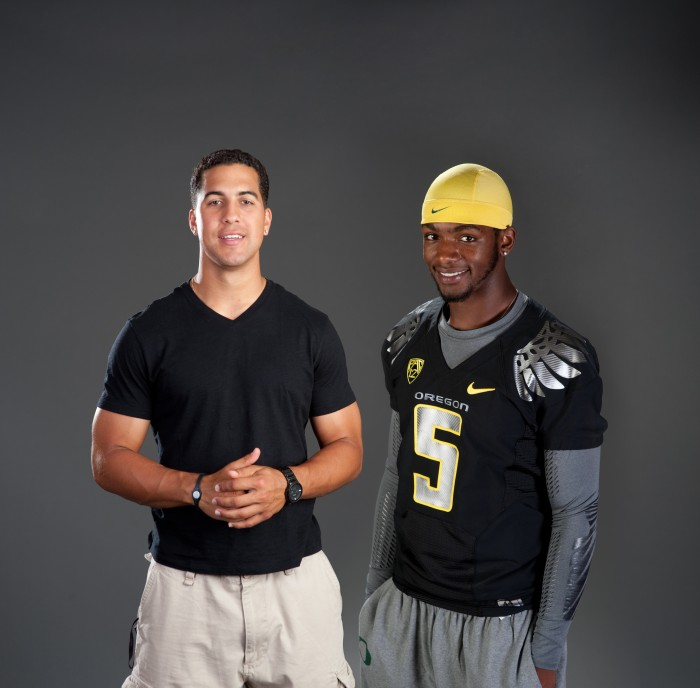 2011-Autumn-Oregon-Athlete-Profile-OSU-quarterback-Ryan-Katz-and-U-of-O-quarterback-Darron-Thomas