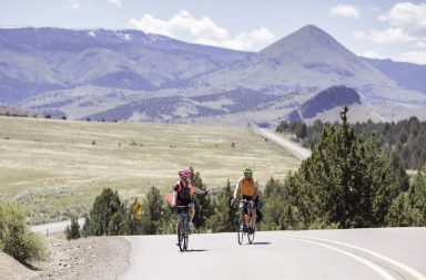 cycling, painted hills scenic bikeway