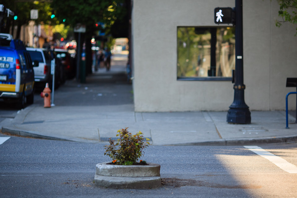 mill ends park, portland, smallest park in the world