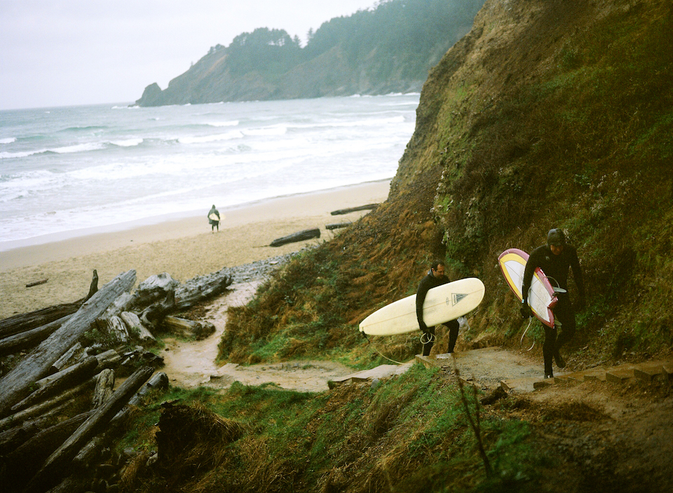 short sands, surfing, oswald west state park