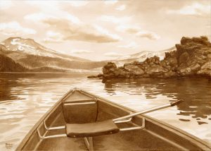 Canoeing at Sparks Lake