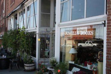 powell's bookstore, condon