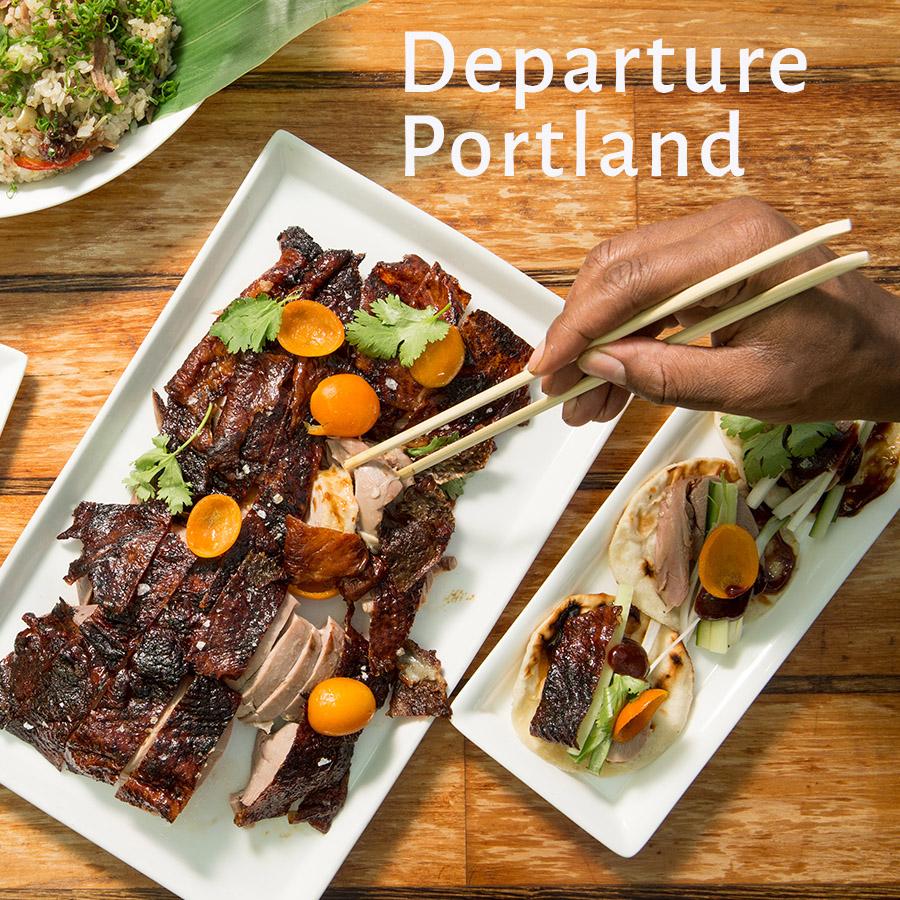 Departure PDX