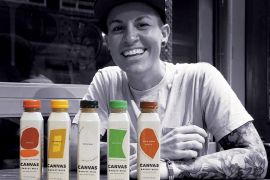 Sarah Pool of Canvas Barley Milk