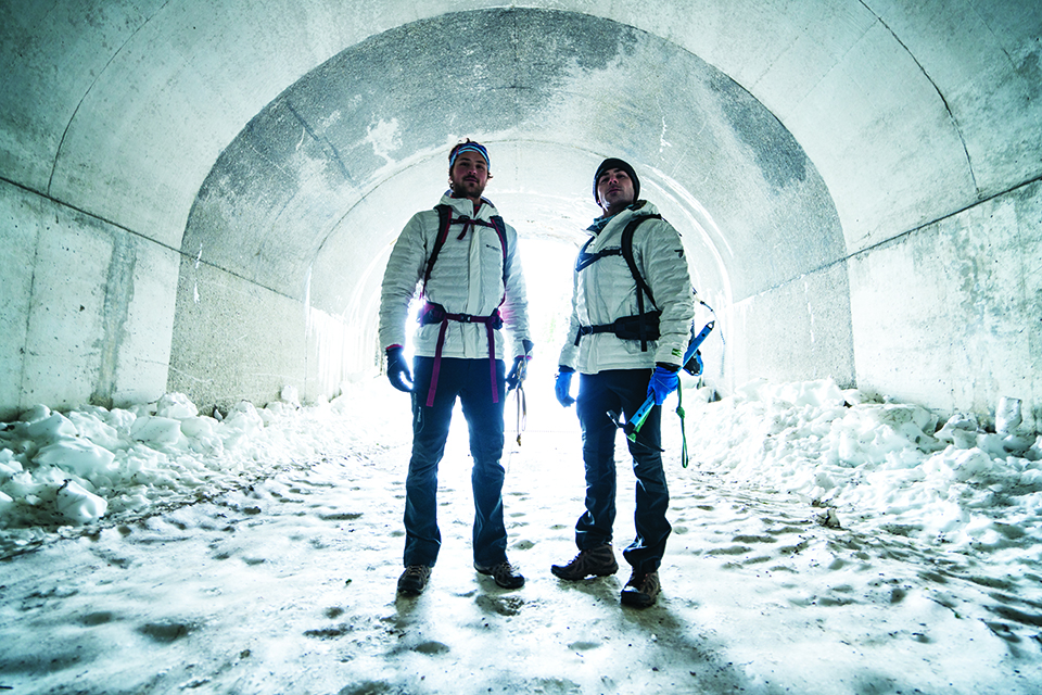 Zac Efron and his brother adventure in Columbia gear