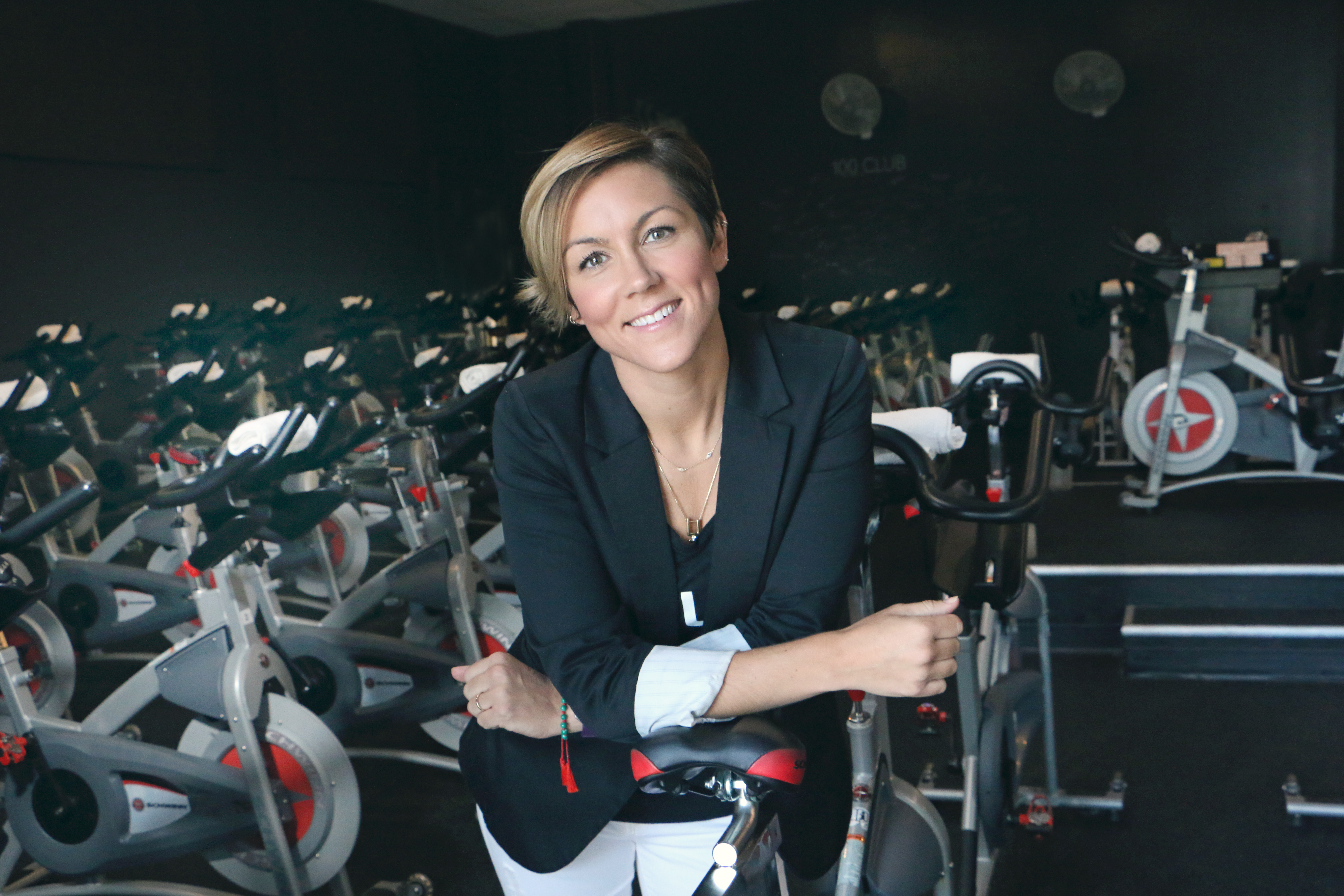 Jessi Duley; BurnCycle founder, mother of three and fitness influencer