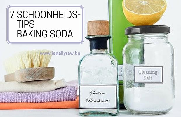 7 schoonheidstips met baking soda