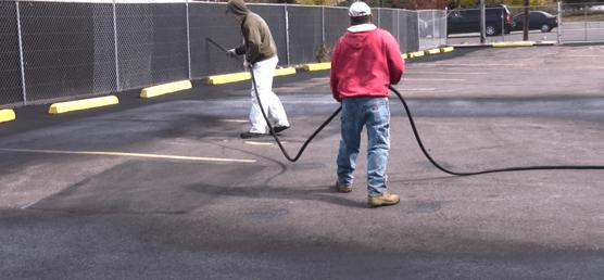 Asphalt Parking Lot Sealing