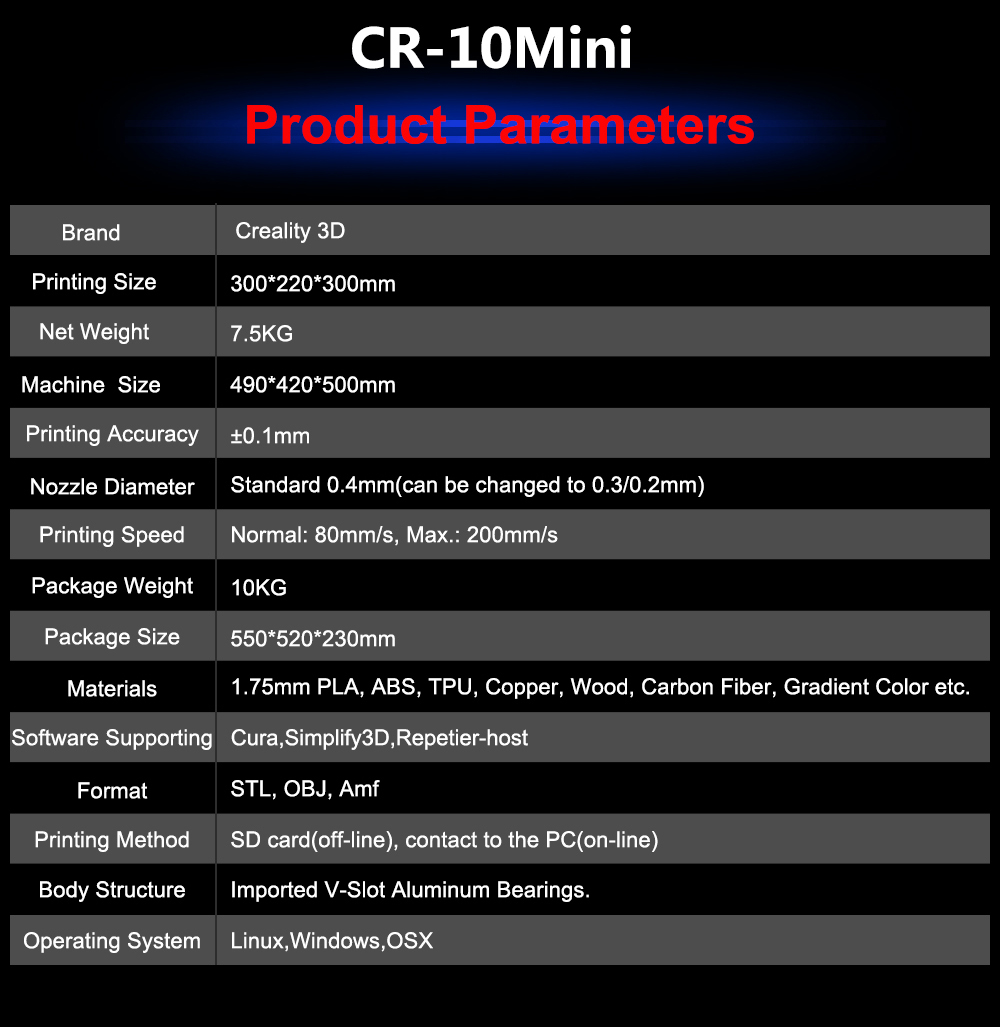 Creality CR-10 Mini