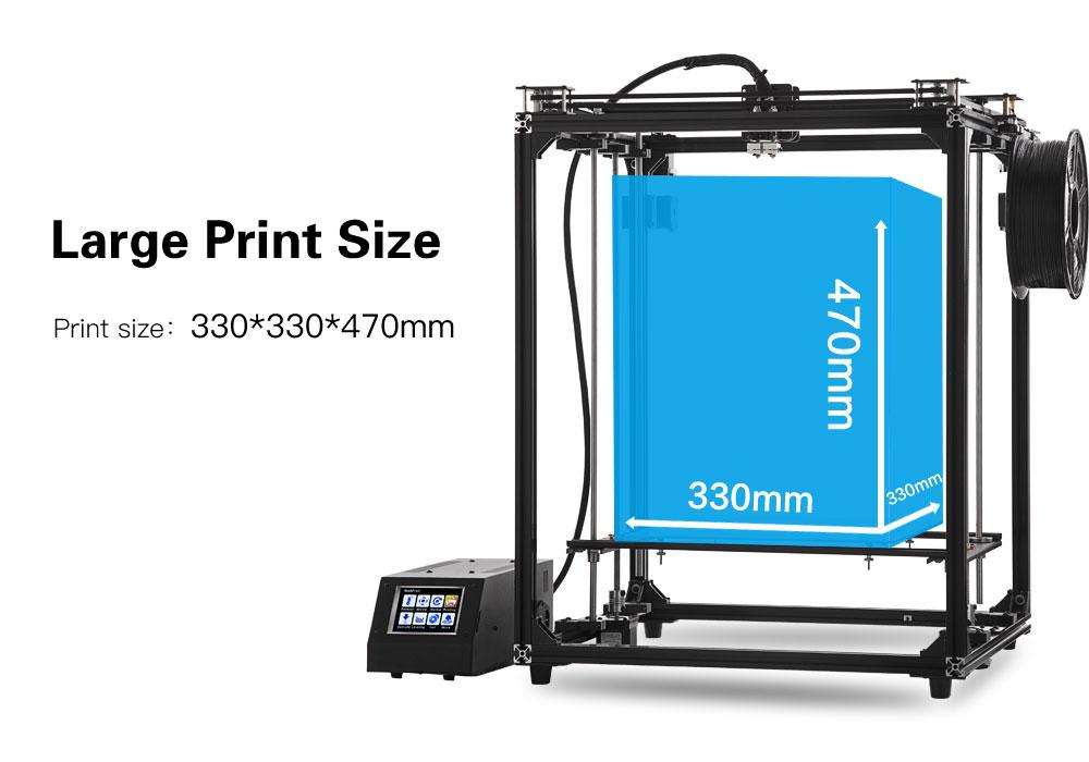 FLSUN CUBE Plus Large Size CoreXY 3D Printer