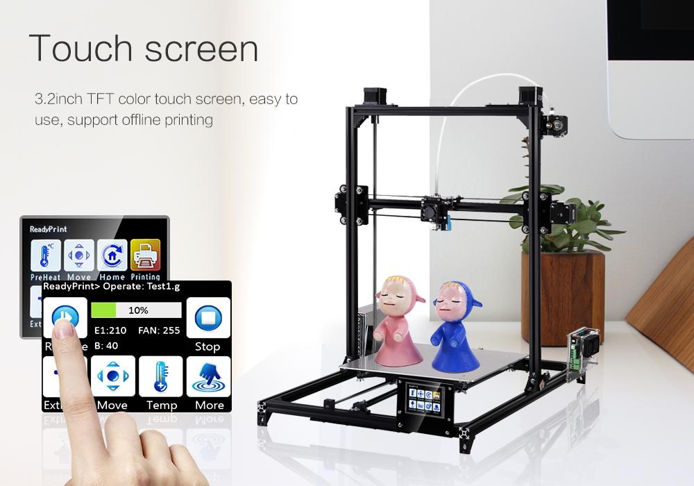 FLSUN i3 Plus Large Print Area 3D Printer Kit (DIY)