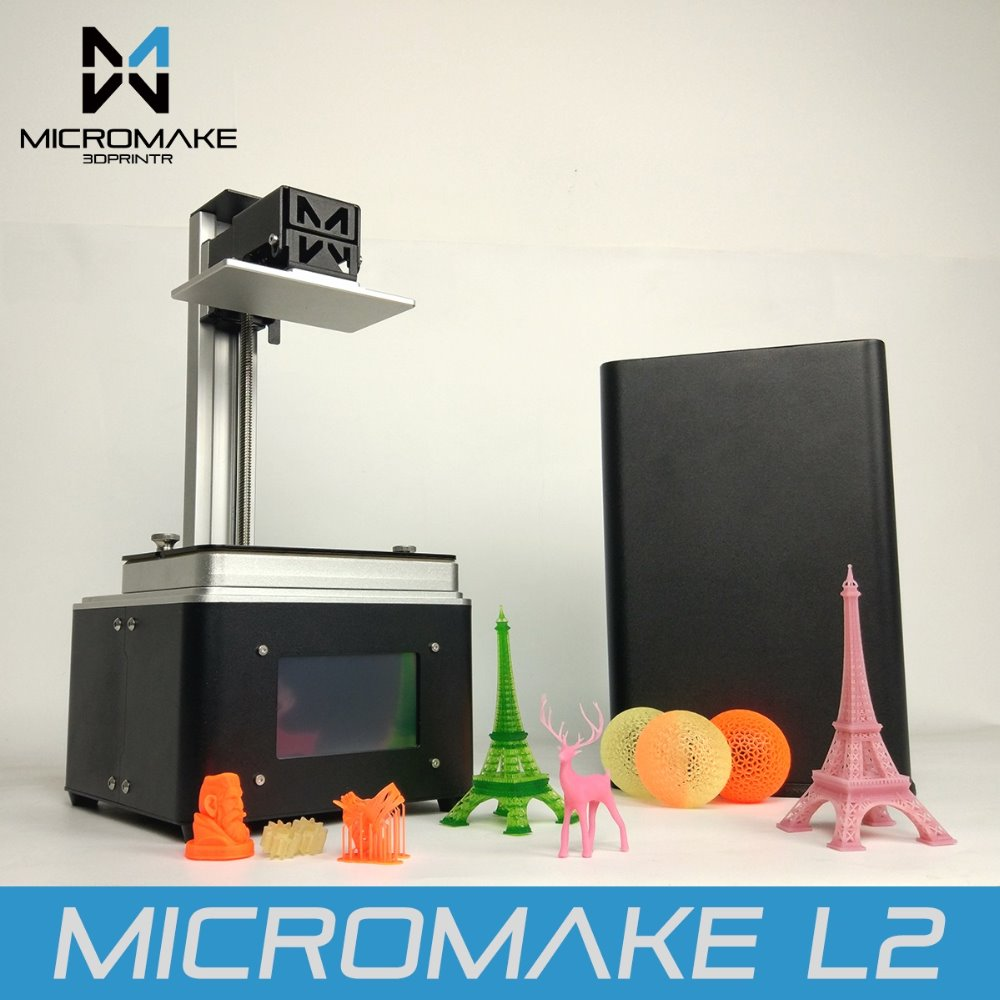 Micromake UV SLA Resin 3D Printer