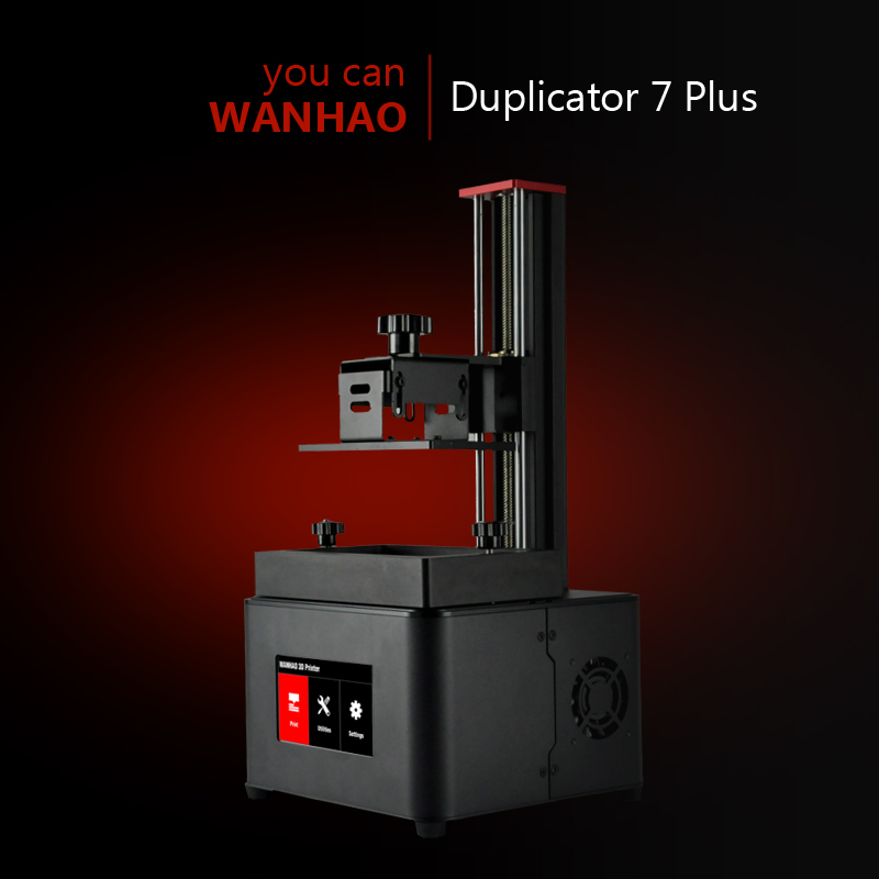 Wanhao Duplicator 7 Plus Touch Screen UV DLP Resin 3D Printer