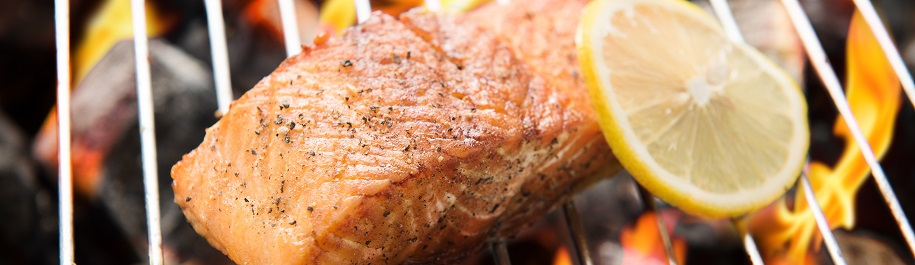 Grilled Salmon with Winter Citrus