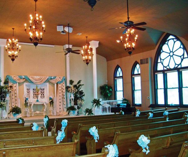 Springfield mo church wedding