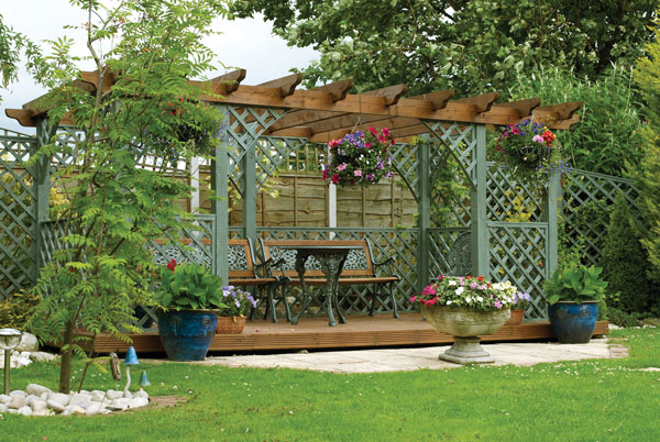 Backyard Addition: A local expert shares how to build your own functional  pergola, just in time for spring. - A Shady Escape