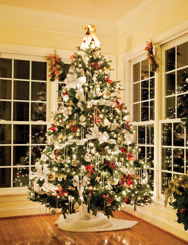 step one choose a tree - Christmas Decorating Tips