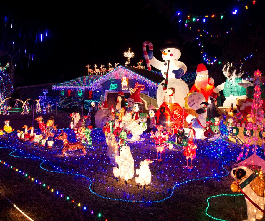 Christmas Light Displays Springfield Mo 2020 Bagwell Christmas Lights Display
