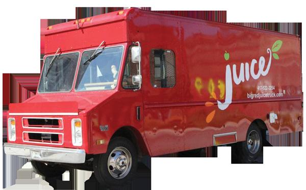Cheap eats for Food truck juice bar