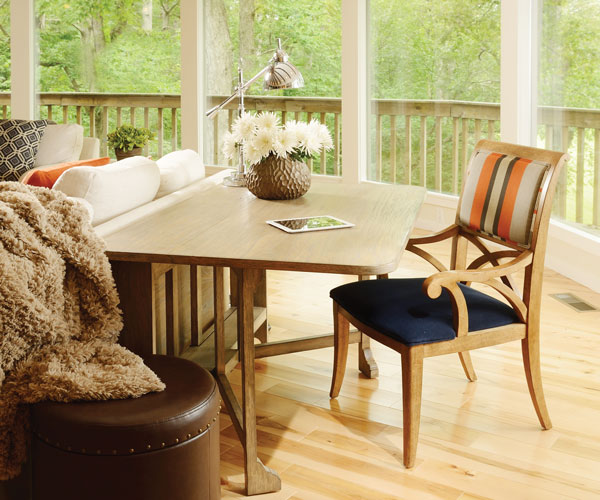 Work With A View: The Desk In This Great Room Acts As A Functional Place  For Bruce Wirtz MacArthur, Who Owns This East Springfield Home With His  Wife, ...