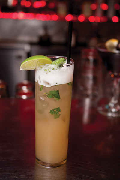 Drink of the Month: Ginger-Pineapple Mojito from Haruno Sushi Bar & Grill Springfield MO