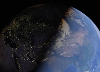 terra spazio