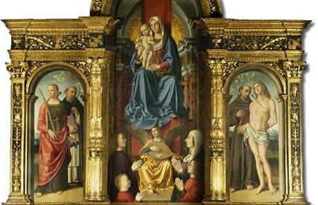 Chiesa San Biagio-Trittico Palmezzano