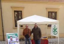 banchetto Lega Nord