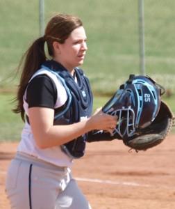 Amber Parrish softball Forlì