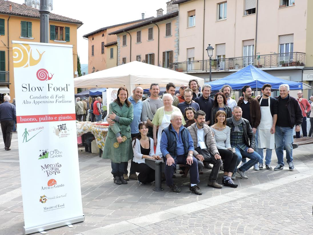 Slow Food Fermano festeggia in strada