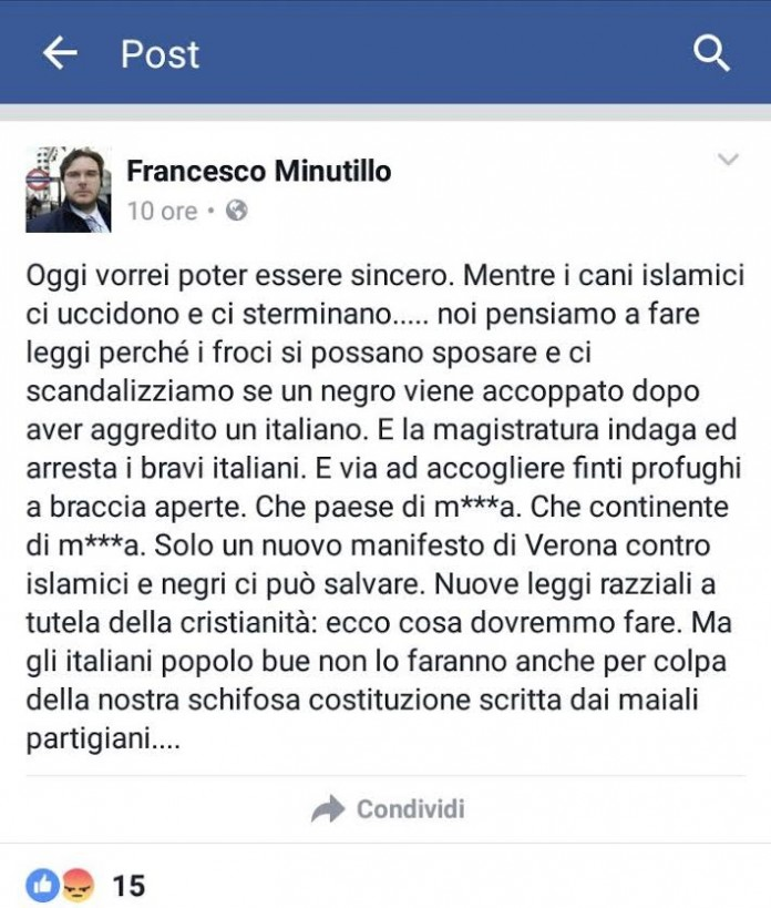 post Francesco Minutillo