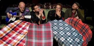 Coldplay col plaid
