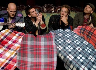 Coldplay col plaid