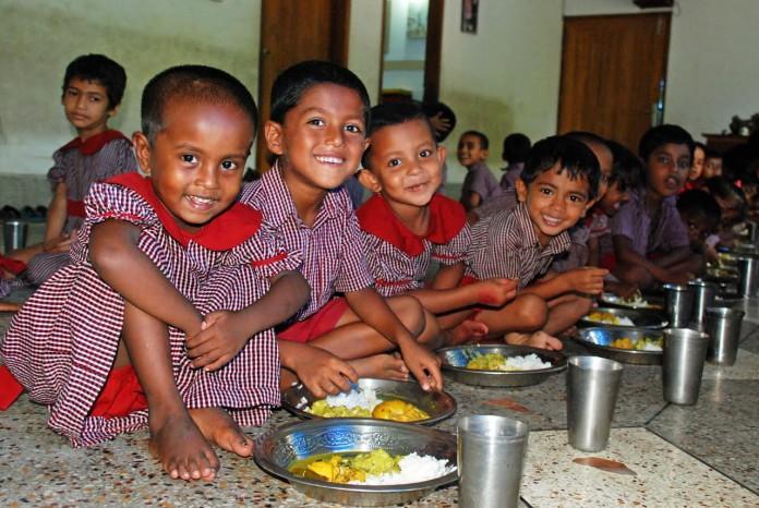 mensa bambini poveri