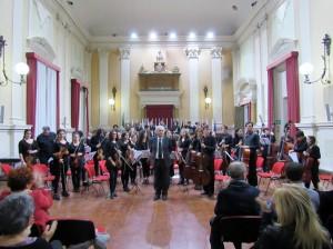 Apertura dell'Anno Accademico 2016-2017 dell'Istituto Musicale Masini e del Liceo Musicale Statale di Forlì.